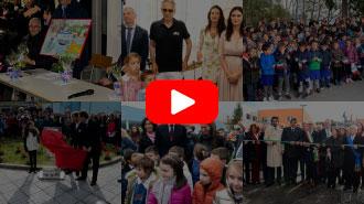 Bocelli inaugura la scuola di Muccia